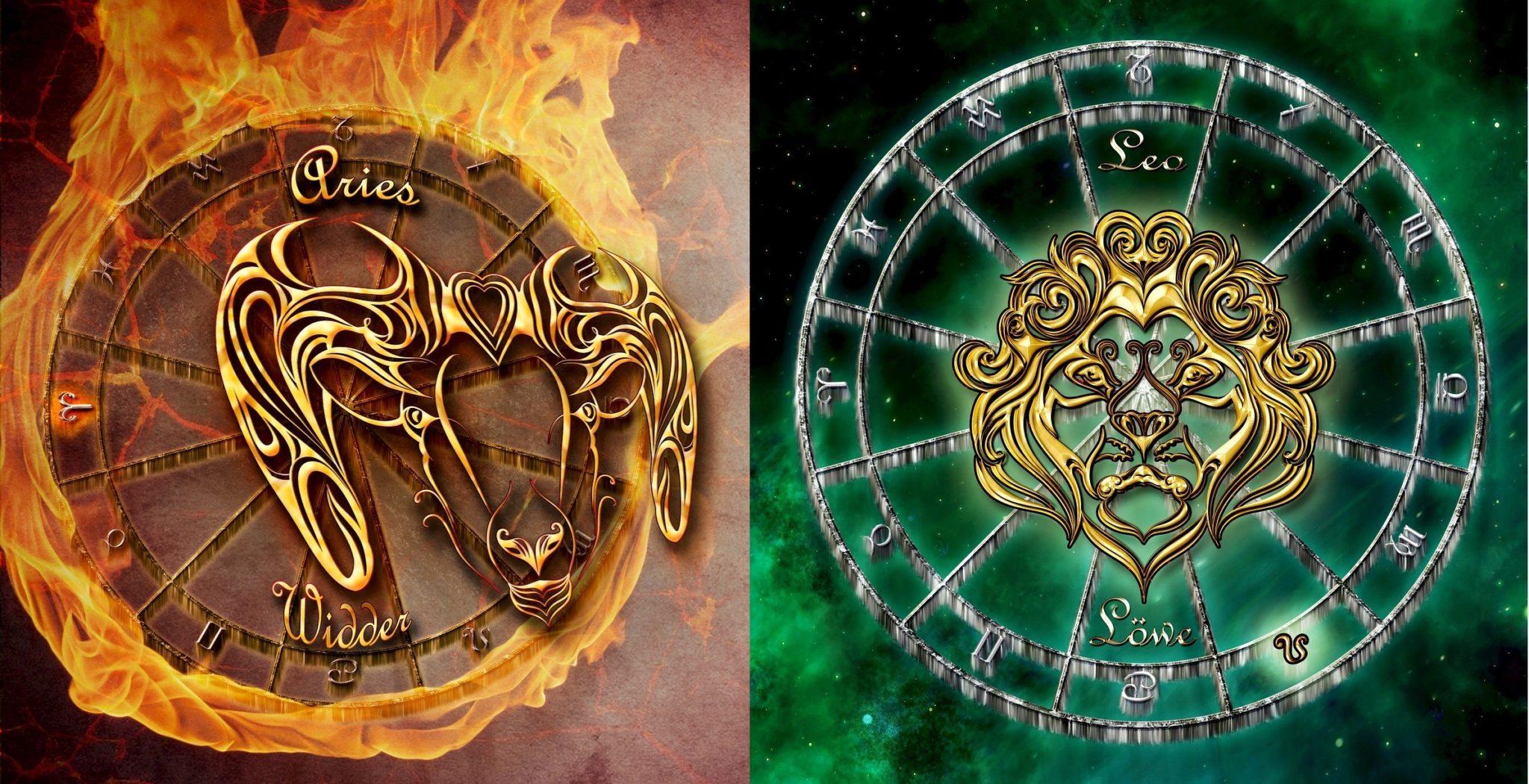 Секс между женщиной овном и мужчиной львом