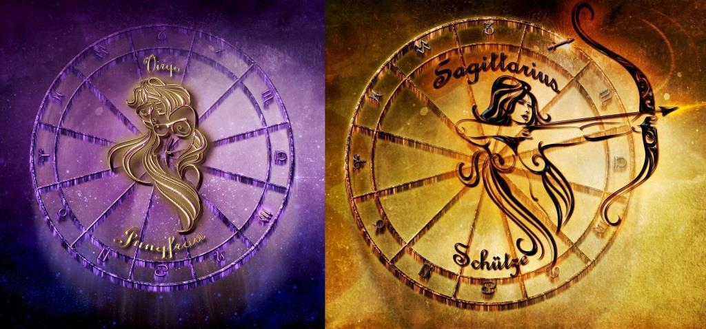 Совместимость знаков зодиака в любви дева и стрелец