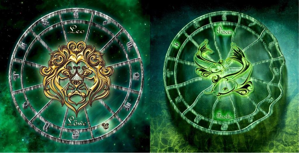 Совместимость знаков зодиака в любви лев мужчина и женщина рыба