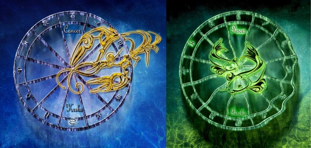 Сочетание знаков зодиака рыбы и рак
