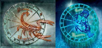 Гороскоп совместимости знаков Зодиака Скорпион и Водолей: в отношениях, в работе, в дружбе