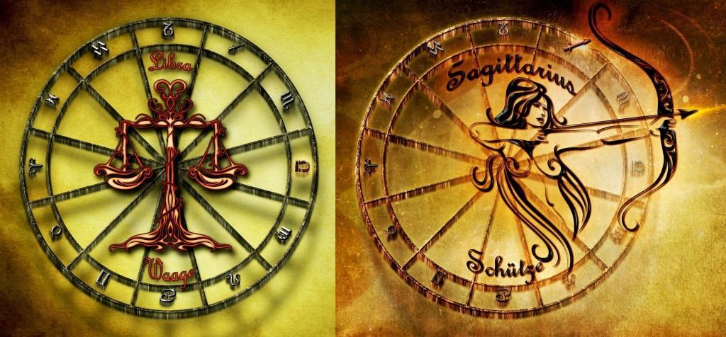 Совместимость знаков зодиака в любви стрелец мужчина и весы женщина